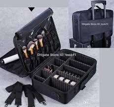 2019 professional makeup artist bag waterproof cosmetics storage organizer beauty vanity case make up travel bag for makeup brushes hair curler from took11