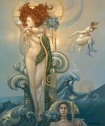 venus venus is a giclee on canvas based on the eponymous painting by michael parkes