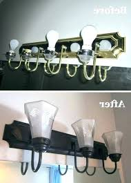painting light fixtures how to spray paint bathroom can you inspirational brass over spray painting brass