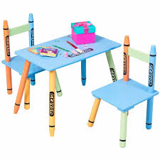 Colorful kids furniture Childrens Giantex Piece Crayon Kids Table Chairs Set Wood Children Activity Playroom Furniture Colorful Kids Learning Tables Hw56663 Aliexpresscom Giantex Piece Crayon Kids Table Chairs Set Wood Children