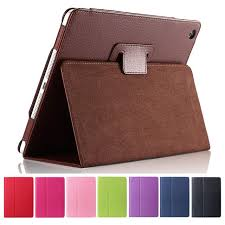 For Apple ipad 2 3 4 Case Auto Sleep /Wake Up Flip <b>Litchi PU</b> ...