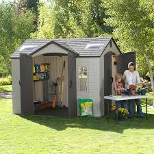 lifetime brighton 10 x 8 side entry shed