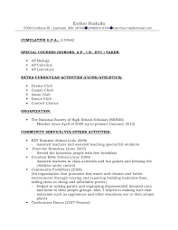 How To Format A Letter Of Recommendation For A Student Resume Format For Recommendations
