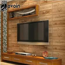 whole wood box wallpaper vintage retro decorative wine plaid background wall vinyl for living room wallpapers