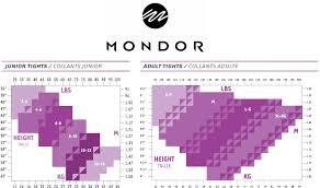 Mondor Footed Shimmer Tight 351 Classique Dancewear