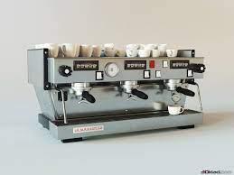 3d model coffee machine Linea classic LaMarzocco