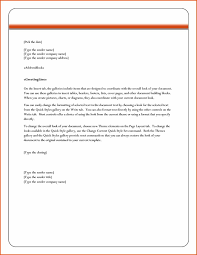 Business Letter Format Word Business Letter Format Microsoft Word Cyberuse