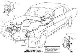 Wiring diagram for trailer lights 4 way mustang diagrams average restoration ford external regulator