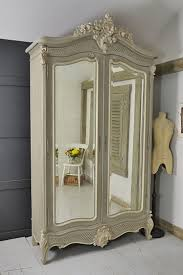 white wood wardrobe armoire shabby chic bedroom. This Beautiful Shabby Chic French Armoire Would Make A Grand Statement In Any Bedroom! We White Wood Wardrobe Bedroom B