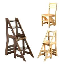 folding chair step ladder surprising folding chair step stool images wooden library ladder furniture school convertible folding chair