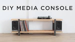 record player media console. Modren Console DIY Media Console Throughout Record Player E
