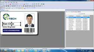 Id Card Design Software Linking Pesona Youtube - All Database