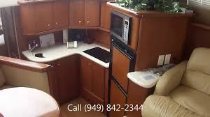 silverton 34 yacht interior walk thru video by south mountain yachts 949 842 2344
