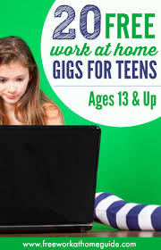 best images about kids make money summer jobs 20 work at home gigs for teens to earn money online