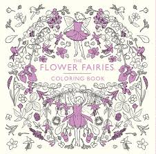 coloring book flower. Simple Coloring The Flower Fairies Coloring Book By Cicely Mary Barker On