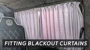 Campervan Design Curtains Fitting Blackout Curtains Inside A Campervan