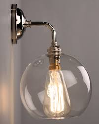 bathroom light globes. Glass Wall Light Shades Fine Contemporary With Clear Hereford Globe Shade Bathroom Globes