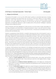 The body of the position paper may contain several paragraphs. Cccm Paper On Area Based Approaches Position Paper 19 10 2020 World Reliefweb
