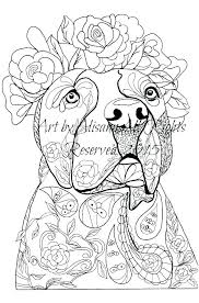 Coloring Pages Dog Coloring Book Illustration Cartoon Stock Vector
