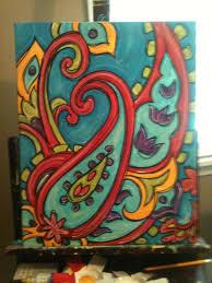 handmade canvas art