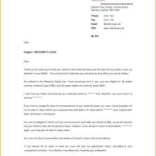 Return To Work Letter After Maternity Leave Template Choice Image ...
