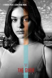the giver character posters for odeya rush cameron monaghan