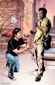 marvel comics hosts first gay wedding in astonishing x men page proposal