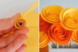 Make Flower With Paper Paper Flower Craft To Make Your Home Feel Like Spring Readers Digest