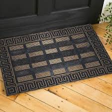 door mat rug mat indoor outdoor wele doormat black gold rubber