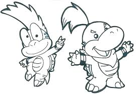 Mario Bros Bowser Coloring Pages Paper Coloring Pages Paper Coloring