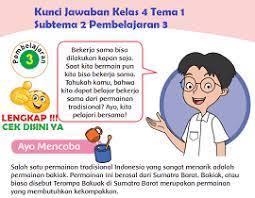 Try the suggestions below or type a new query above. Lengkap Kunci Jawaban Kelas 4 Tema 1 Subtema 2 Pembelajaran 3 Simple News Kunci Jawaban Lengkap Terbaru