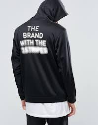 adidas 03 hoodie. adidas originals blk / wvn hoody with back print in black bq3539 larger image 03 hoodie