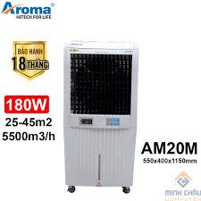 Quạt điều hòa AROMA AM20M – Nút bấm cơ, Giá tháng 11/2020