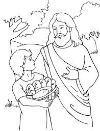 Small Picture Miracles of Jesus Coloring Page NetArt