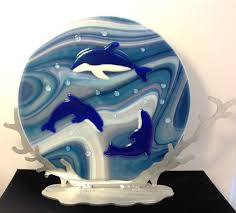 Art Glass Display Stands 100 best Art Glass Display Stands images on Pinterest Fused glass 47