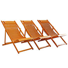 vintage bamboo loungers wood japanese deck chairs outdoor fold up lounge chairs for