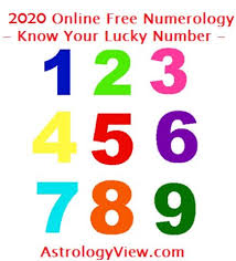 Numerology Friendly Numbers Chart 2020 Numerology Predictions Online Numerology Your Lucky