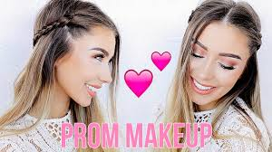 prom makeup hair tutorial giveaway