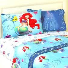 ariel bedding full bed set the little mermaid 4 piece bed sheet set full bedding sheets