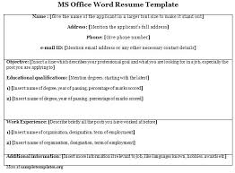Resume Builder Templates Free Classy Microsoft Office Resume Builder Calendar Templates 48 Komphelpspro