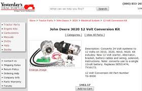 john deere 4020 24v to 12v conversion wiring diagram john john deere 3020 24v to 12v conversion 15 steps pictures on john deere 4020 24v