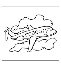 Kleurplaten En Zo Kleurplaat Van Vliegtuig