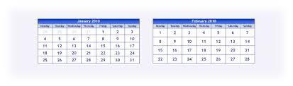 2010 Calendar January Free 2010 Calendar In Pdf And Adobe Illustrator File Format