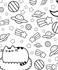 Pusheen Coloring Pages Pusheen Coloring Pages Halloween Coloring