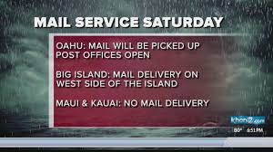 U S Postal Service Operations Mail Delivery Changes As Lane
