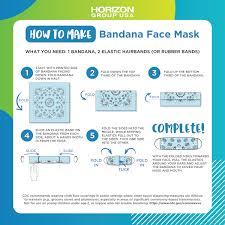 bandana face mask horizon group usa