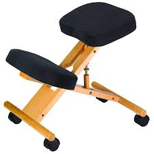 Kneeling Chair Design Plans Buy Classic Coffee Better Posture Kneeling Chair Black