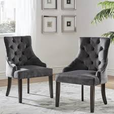 Benchwright II Velvet Button Tufted Wingback Hostess Chairs (Set of 2) by  iNSPIRE Q Bold - Free Shipping Today - Overstock.com - 22553717