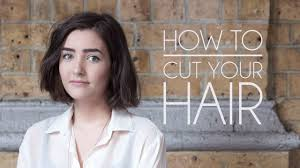 Short Hairstyle Cuts how to cut your own hair short hairbob youtube 8341 by stevesalt.us