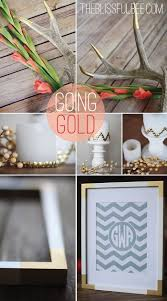 Small Picture Remodelaholic Simple DIY Gold Home Decor Accents